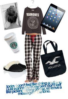 """Lazy Day"" by jgibbsmi <span class=""EmojiInput mj40"" title=""Heavy Black Heart""></span> liked on Polyvore"