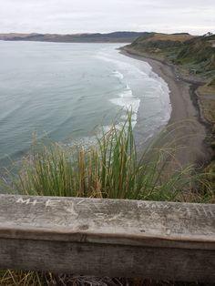 Raglan by-the-sea. NZ