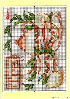 Gallery.ru / Фото #19 - 2011.04 - tymannost  TEA cross stitch