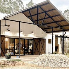 Barn House Plans, New House Plans, Dream House Plans, House Floor Plans, Barn Plans, Garage Plans, Metal Building Homes, Building A House, Metal Homes