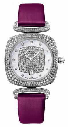 2014 Releases: Glashütte Original Pavonina White Gold Ladies