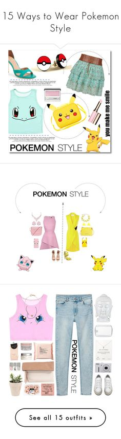 """""""15 Ways to Wear Pokemon Style"""" by polyvore-editorial ❤ liked on Polyvore featuring Pokemon, waystowear, York Wallcoverings, Hot Topic, Joie, Clarins, Clinique, pokemonstyle, Rebson and Prabal Gurung"""
