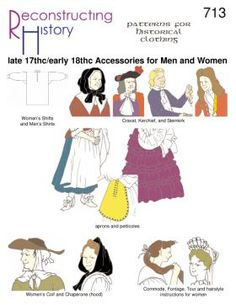 1680s-1725 Accessories | Golden Age of Piracy Accessories | Lady's Accessories