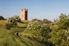 The steady walk to Broadway Tower features grazing pastures and crop fields. As the second highest point on the Cotswold escarpment, the tower showcases views of the site of an ancient Roman vineyard and the more recent Cotswold Olimpicks.