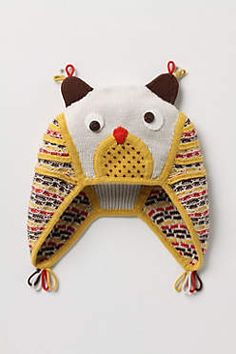 Owlet hat - for my grandsons....love them...they will be so cute in the mountains after Christmas