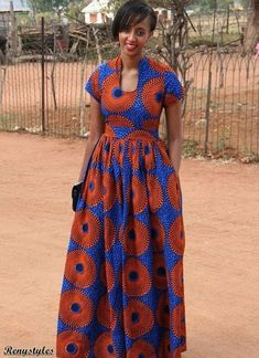Great Stylish African fashion clothing looks Ideas 1834927787 African Dresses For Women, African Print Dresses, African Attire, African Fashion Dresses, African Wear, African Women, African Prints, African Style, Ankara Fashion
