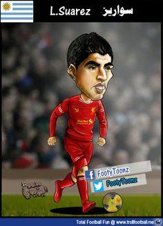 FootyToonz Cartoon: Suarez #Class  http://www.trollfootball.me/display.php?id=15893  #football #soccer #Trollfootball #FootyToonz #Cartoon #LuisSuarez #Suarez