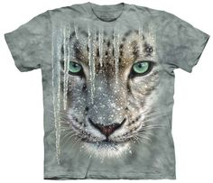 Leopard T-Shirt | Icicle Snow Leopard Adult