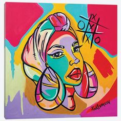 Canvas Artwork, Canvas Art Prints, Canvas Frame, Graffiti Painting, Painting Inspiration, Wallpaper, Pop Art, Drawings, Picasso