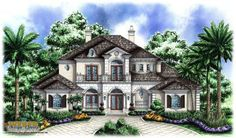 country french house plans | Country French House Plans... Discover the true essence of French ...