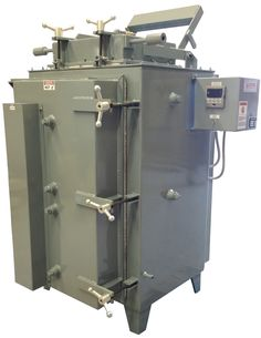 Model 2020GT-361212 Top Loading Furnace for use with inert atmosphere in use at a southern University