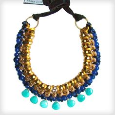 Great for any occasion  http://www.cottonandgems.com/jewellery/necklaces/clare-hynes-shaoqing-necklace