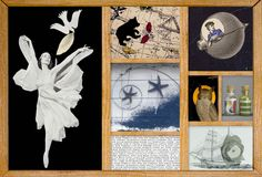 American artist Joseph Cornell (1903-1972) has been celebrated internationally for his boxes, collages and films since the 1930's.