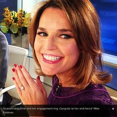 Today Shows Savannah Guthrie Gets Engaged to Political Consultant Mike Feldman—Then Hit On by Bradley Cooper! Wanna See Her Engagement Ring?: Obsessed
