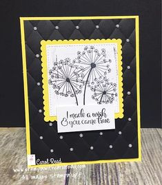 fb4a9f84a89 119 Best ! Cards - SU Dandelion Wishes ** images in 2019 | Dandelion ...