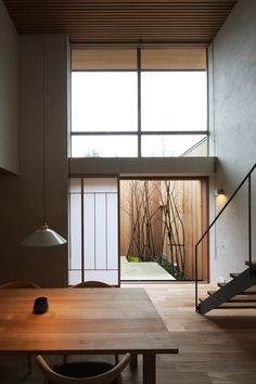 Japanese Modern, Japanese Interior, Japanese House, Japanese Architecture, Interior Architecture, Exterior Design, Interior And Exterior, Takachiho, Natural Interior