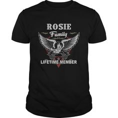 Get yours hot Rosie Family Lifetime Member Shirt Gift Idea For Rosie Shirts & Hoodies.  #gift, #idea, #photo, #image, #hoodie, #shirt, #christmas