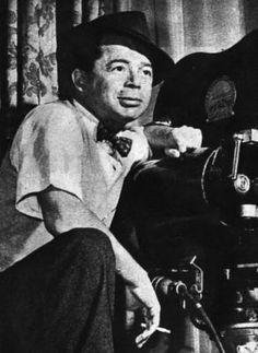 Writer-director BILLY WILDER, behind the camera.