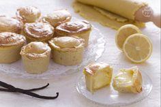 I pasticciotti ricotta e crema di limone sono un dessert goloso: una morbida…