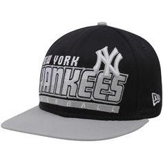 f7bc4f75302e7 New Era New York Yankees Black-Gray Slice   Dice Snapback Adjustable Hat