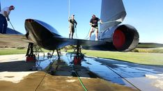 SR-71 aircraft tail cleanings