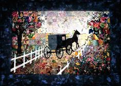 Buggy Ride Watercolor Quilt Kit