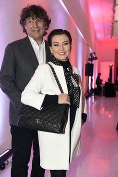 Dana s manželem Petrem Maláskem na tiskové konferenci TV Nova Nova, Friendship, Sexy, Model, Models, Modeling, Mockup