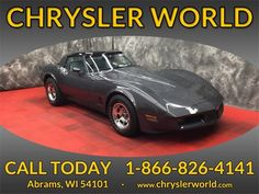 This 1981 Chevrolet Corvette is for sale in Abrams, WI. Price: $7990.00, Mileage:75265, VIN: 1G1AY8761BS405872, incacar.com Chevrolet Blazer, Chevrolet Corvette, 2018 Dodge Challenger, Plant Companies, Ford Police, Land Rover Models, Lincoln Models, Volvo S40, Chevrolet Aveo