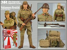 japanese military | 3R - The Imperial Japanese Army - 1/6 Scale Action Figure - Nakamura ...