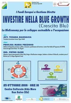 San Salvo sviluppo sostenibile e occupazione: convegno sulla  Blue Growth