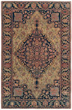 Ferahan Sarouk  4ft 7in x 7ft 0in  3rd Quarter, 19th Century