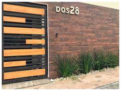 Front Gate Design, Door Design, Front Gates, Steel Furniture, Fence, Garage Doors, Patio, House Styles, Outdoor Decor