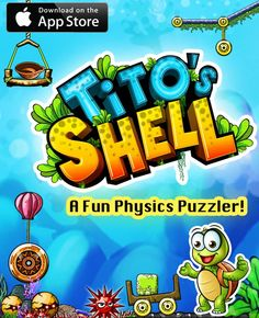99Games is pleased to announce the release of Tito's Shell - a fun physics puzzler for iPad, iPhone and iPod Touch!    Use the underwater world and elements like levers, ropes, wheels, blowers and more to your advantage and re-unite Tito with his precious shell in the physics puzzler 'Tito's Shell'.    Tito's Shell is priced at $0.99 and is available in App Store at:  https://itunes.apple.com/app/titos-shell/id505955057?ls=1=8