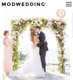 So happy to see my clients wedding featured on @modweddings. All hair styled by me. This wedding was swoon worthy! Check it out! Link in my bio.  Photo by: @cloveandkin  Hair by: @stylesbytiffany  Makeup by: @cindystirling_muah **more vendors featured on