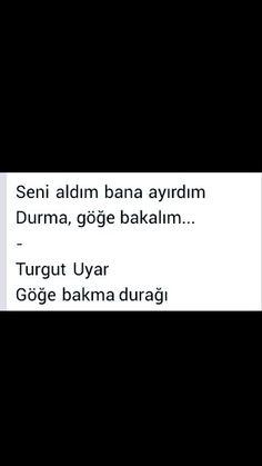 Seni aldım bana ayırdım Turgut Uyar