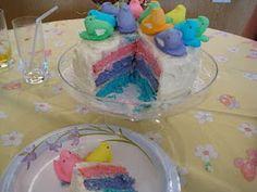 Peep Cake! I love this!