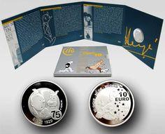 Tintin coins