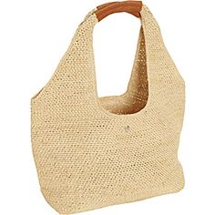 Buy the Helen Kaminski Pia S at eBags - Carry your summertime or warm weather necessities with elegant yet casual, comfortable, and earth-fr Helen Kaminski, Straw Tote, Pouch, Wallet, Knit Crochet, Crochet Bags, Casual Bags, Knitted Bags, Travel Backpack