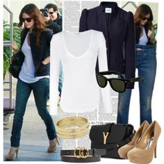 Rachel Bilson style -- Dressed up casual