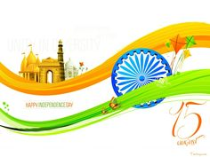 Happy th Independence Day of India HD Wallpapers with Quotes