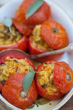 Stuffed Tomatoes | Cooking Melangery
