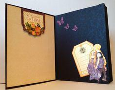 G45 An Eerie tale Xcut Theater shadow box card by Anne Rostad