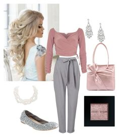 Office Princess by alaina-schoppa on Polyvore featuring polyvore, fashion, style, River Island, Phase Eight, Mellow World, Humble Chic, Jon Richard, Bobbi Brown Cosmetics, J.Crew, clothing, romantic, office, kibbe and kibberomantic