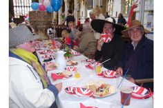 Westgate residents' Diamond Jubilee party at St James's Church in Louth
