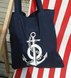 Anker Einkaufsbüddel/Beutel blau rockabilly von Küstenmädel auf DaWanda.com Rockabilly, Reusable Tote Bags, Etsy, Fashion, Carry Bag, Anchors, Pouch, Blue, Moda