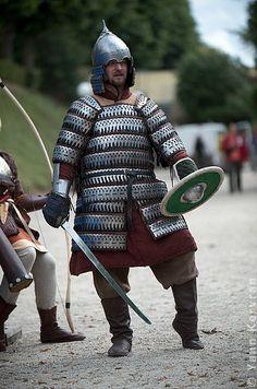 Golden Horde warrior reconstruction