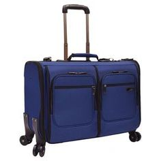 Stimson Carry-on Spinner Garment Bag in Navy