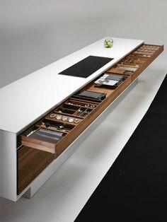 design cuisine ilot moderne