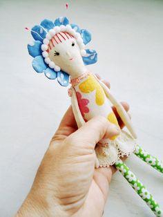 modflowers: flower doll