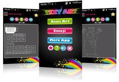 Aplicación Android Ascii Art & Emoticons que te permite utilizar símbolos y emoticones para WhatsApp, Facebook, SMS y más.